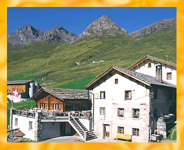 Pension Edelweiss - 7448 Avers-Juf - 2126 m �. M.